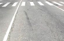 Водитель скрылся с места дтп, оставив след на дороге