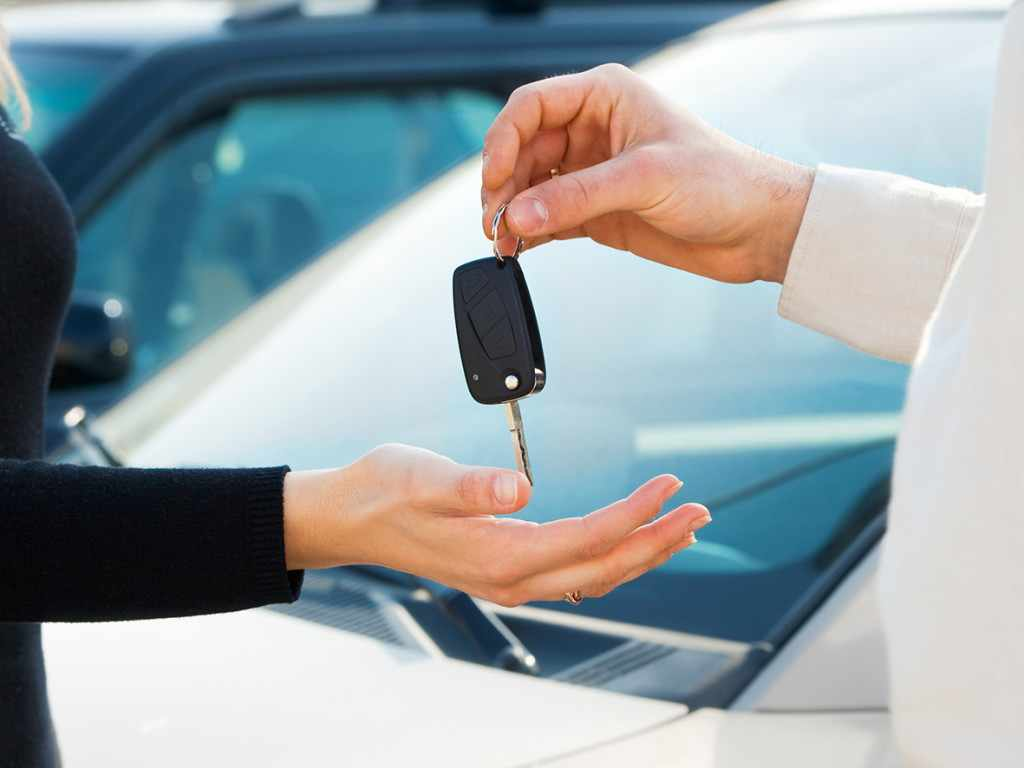 Образец акта приема-передачи транспортного средства водителю - скачать бланк