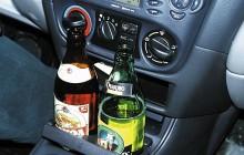 Две бутылки с алкоголем